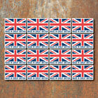 Made in Great Britain Union Jack Stickers Labels 50x34mm Car Motorbike GB Decals