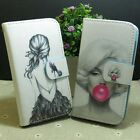 Marilyn Monroe Pretty Girl Wallet Pouch Stander flip case cover for LG Phone