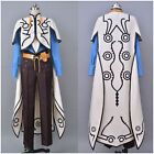 Aselia the Tales of Zestiria X Sorey Cosplay Costume Outfit White Cape Robe Suit