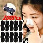 200Pcs Nose Blackhead Remover Cleansing Pore Strips Peel Off mask/Nose Sticker