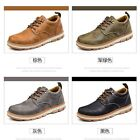 Fashion Artificial PU Lace Up Athletic Sneakers Men's Casual Solid Sports Shoes