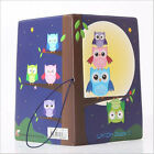 Cartoon Style Passport Holder PVC Passport Cover Case for Travel Card ID Holders