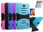 "Hybrid Tough Hard Stand Cover Case for Samsung Galaxy Tab 4 8.0"" inch SM-T330"