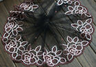 Exquisite Lace Accessories Stereo Embroidery Lace Bow Hair Cloth Material 1 Yard