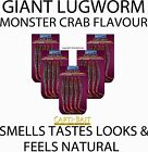 WSB CAPTI-BAIT GIANT LUGWORM  MONSTER CRAB FLAVOUR - SEA FISHING TACKLE
