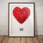 Olivia Valentine - 'My Whole Heart' Art Print Poster Two Size NEW Exclusive