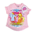 LICENSED MY LITTLE PONY PINK MERRY CHRISTMAS KIDS SHIRT