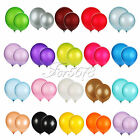 "12"" Latex Helium Balloon Wedding Birthday Xmas Party Suply 17Colors Gift for Kid"