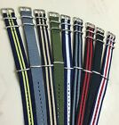 """Canvas Watch Band Strap 18mm 20mm 22mm Nylon Military TIMEX Weekender """"Style""""USA $7.25 USD"""