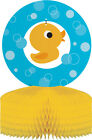 Baby Shower Rubber Duck cups plates napkins tablecover favour bags decorations