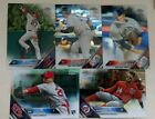 2016 TOPPS CHROME BASE CARD- COMPLETE YOUR SET - FREE MAX SHIPPING
