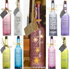 STAR Led LIGHTS In BOTTLE Unusual Gifts KEEPSAKE In Memory Of Birthday Present
