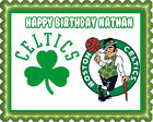 Boston Celtics - Edible Cake Topper OR Cupcake Topper, Decor on eBay