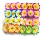 Hawaiian Plumeria Flower Foam Hair Clip New Fashion Hair Accessory Clip zirconia