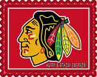 CHICAGO BLACKHAWKS (2) - Edible Birthday Cake Topper OR Cupcake Topper, Decor $8.95 USD on eBay
