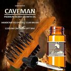 Caveman® FACIAL HAIR GROWTH OIL GROW MUSTACHE BEARD GROWTH SIDEBURNS GROWTHER