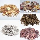 100g Pcs Lot Vintage Steampunk Wrist Watch Old Parts Gears Wheels Steam Punk