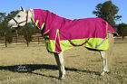 LOVE MY HORSE 1200D 300g 5'0 - 6'6 Reflective Winter Combo W'proof Rug Pink/Lime