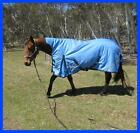 Love My Horse 5'3 - 6'6 1200D 180g Fill High Neck WUG Horse Rug Blue / Navy