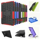 """For Amazon Kindle Fire 8"""" HD8 3D Shock Skip Proof Grenade Grip Rugged Tough Case"""