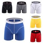 1pcs Boxer Shorts Sports Mens Athlete Trunks Briefs Plus Size Underwear Various