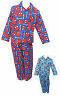 Spiderman Marvel Boys Pyjamas/PJ's Long Sleeved and Bottoms 5-6Y / 7-8Y / 9-10Y