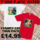 Stampy Squid  T-shirt Girls Boys Age 5-16 years XMAS OFFER ONLY - TWIN PACL