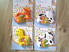 BPA FREE Fun Dog Cow,Giraffe Rattle Baby Rattles Toy Activity 6+ month Teething