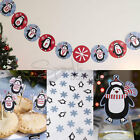 PARTY PENGUIN CHRISTMAS TABLE DECORATIONS - Festive Xmas Day Party Accessories