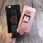 New Fashion Leather Wrist band Phone Protective Cover Case For iPhone 7 6S Plus