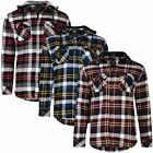 Mens 100% Cotton Point Zero Checked Shirt Detachable Hood Top Size S-XXL RRP 60