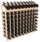 8 Bottle High Wine Cellar Display Top Kits in Pine. Choose 1-10 Columns Wide!