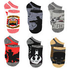 Star Wars Boys Teen Adults 6 pack Socks Set Y4060H $9.88 USD on eBay
