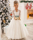 New Flower Girl Dresses for Wedding Prom Birthday Girl's First Communion Party