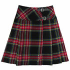 "Tartanista  Black Stewart  23""  Kilt Skirt"