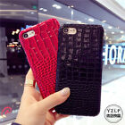 Cool Luxury New crocodile Leather Business back case cover for iphone 7 6S plus