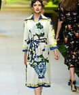 J 2017 spring occident retro printing 3/4 sleeve elegant refined women dress new