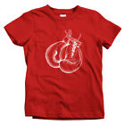 Boxing Gloves Kids T-shirt - Baby Toddler Youth Tee - Boxer Box Fight Night Gift