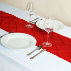 "1 pc 12x108"" PINTUCK TABLE RUNNER Wedding Party Catering Buffet Dinner Linens"