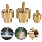 "Внешний вид - 1/4"" / 1/2"" / 3/4"" Brass Garden Pond Fountain Water Nozzle Sprinkler Spray Head"