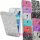 PU LEATHER MAGNETIC FLIP POUCH CASE COVER FOR SAMSUNG GALAXY S4 MINI i9190/i9192
