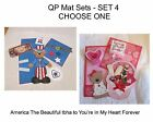 Set 4 - Quick Page/Mat Set...Great for Cards/Pages....Choose One