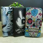 Skull Tiger Nice Day Wallet Pouch Stander flip case cover for Sony Phone