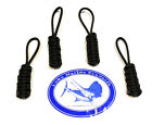 Lobo Marine Products 4 Pack Boat & Yacht Enclosure Awning Soft Top Zipper Pulls
