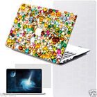 Bling 3D Diamonds Painted Cutout Cover Hard Case for Macbook Air 11 12 Pro 13 15