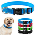 nylon reflective pet dog collars for small
