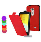 HOUSSE A CLAPET POUR LG L BELLO EN SIMILI CUIR ETUI HOESJES PROTECTION COVER