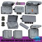 Outdoor Weatherproof IP66 Switch & Socket Range, Remote Control, Timer & RCD