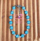 Fashion Pearls Dog Necklace Pets Products Accessories Grooming Jewlery 3colors