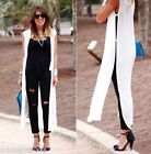 ZARA OFF WHITE LONG SHIRT WITH VENTS REF.3198/042 SIZE S BLOGGERS FAVORITE